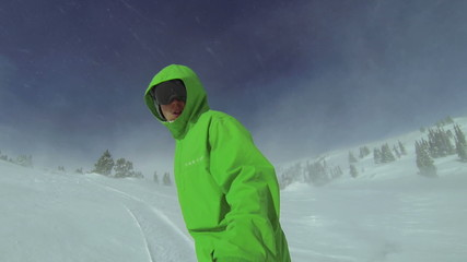 Extreme Snowboarding Point Of View, Winter Sport HD