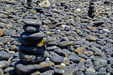 Small pebble on island, Lipe, Andaman sea, Thailand