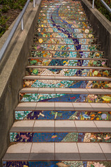 The stairway in San Francisco