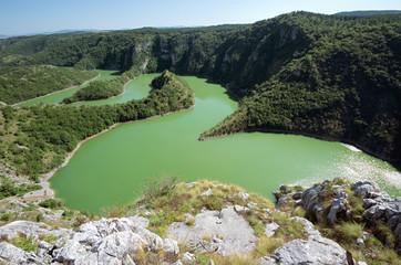 Canyon Uvac River, Serbia