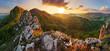 Leinwanddruck Bild - Slovakia mountain at spring - Vrsatec