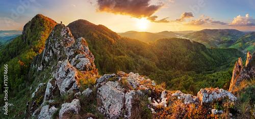 Slovakia mountain at spring - Vrsatec - 71074666