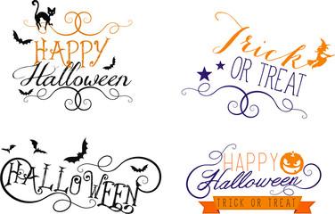 Halloween scritte