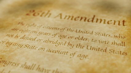 Historic Document 26th Amendment