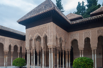 palace of the Alhambra in Granada