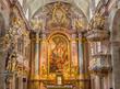 Vienna - Main altar of baroque st. Annes church