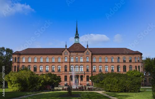 Leinwanddruck Bild evangelisches Krankenhaus Königin Elisabeth Herzberge berlin