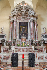 Padua - Side altar in the church Santa Maria dei Servi.