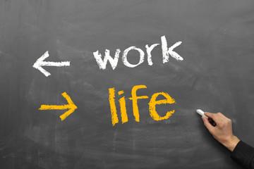 work, life