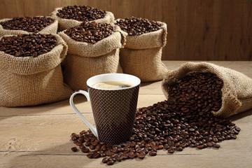 caffe nero in tazza