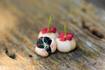Pucuk Manis fruits on wood