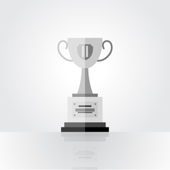 Winner silver cup, second place