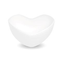Porcelain heart