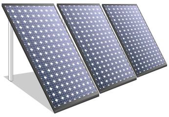 Solar panels photovoltaics ecologic