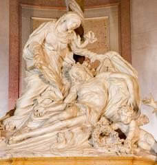 Padua - Pieta statie  in the chruch Basilica di Santa Giustina.