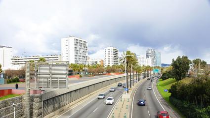 Ronda del Litoral en Barcelona