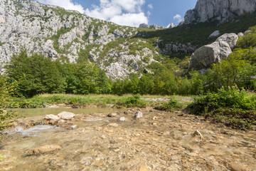 Rivière à Paklenica-Velebit