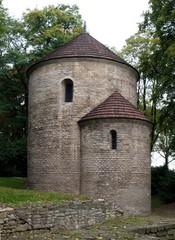 old,roman styled church in Cieszyn