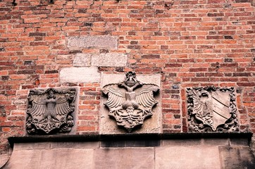 Heraldic shields of Nuremberg