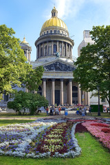 Saint Isaac cathedral in St Petersburg by Auguste de Montferrand