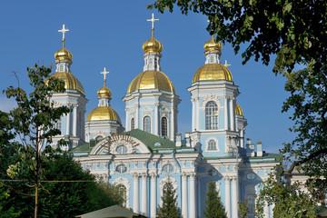 St. Nicholas Naval Cathedral, Saint Petersburg, Russia