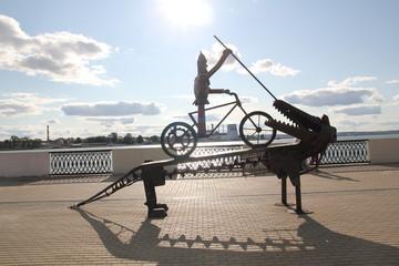 памятник Георгию Победоносцу, современное виденье