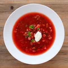 Borscht - Russian beetroot soup