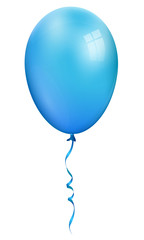 Balloon, single blue