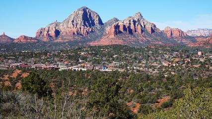 Wilderness of Rocky Mountain in Arizona, USA