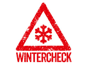 Roter Stempel - Wintercheck