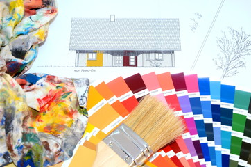Haus Farb Auswahl