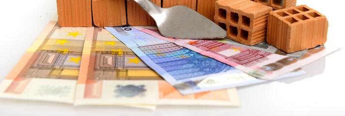 Banner  Baudarlehen Hausbau
