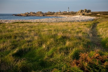 ushant island coastline landscape