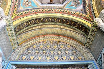 Фрагмент декора входа в кафедральный собор Эчмивдзинв