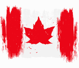 Canada stylized flag