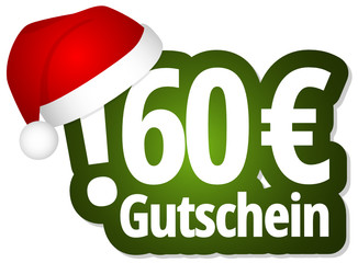 60 Euro Gutschein