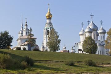 Вологодские храмы на Соборной горке