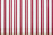 red stripes on a white fabric