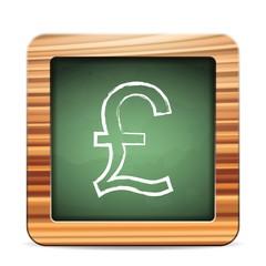 blackboard british pound