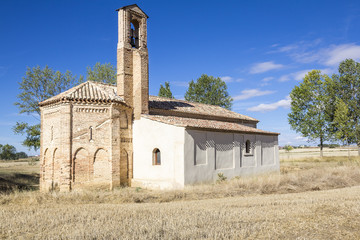 ancient church in the countryside - Sahagun, Spain