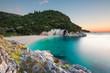 canvas print picture - einsame Bucht - Korfu