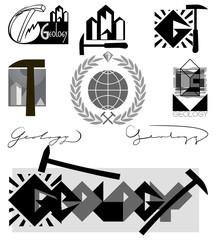 Геология-эмблема