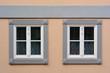 canvas print picture - zwei Fenster