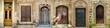 Leinwanddruck Bild - Historical Old Gates