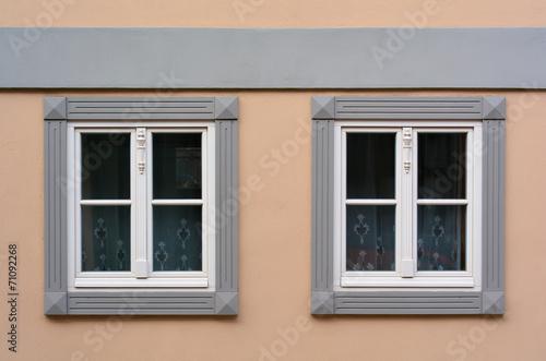 canvas print picture zwei Fenster