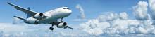 """Постер, картина, фотообои """"Jet plane in flight"""""""