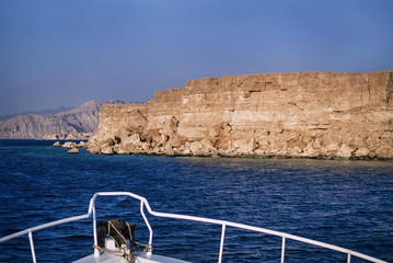 Egypt, Sharm El Sheikh, the rocky coast near Ras Mohammed