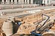 Strassenbau und umfassende Arbeiten an den versorgungsleitungen