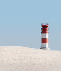 Lighthouse in dunes