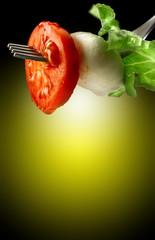 forchetta d'insalata
